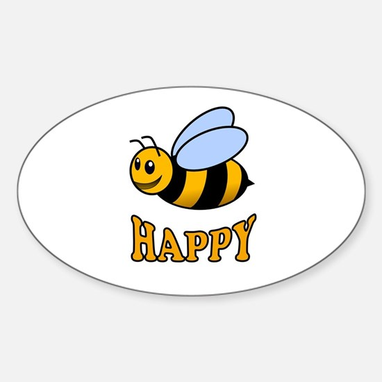 BE HAPPY Decal