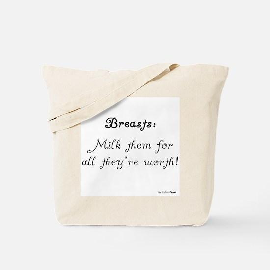 Breats: Milk them Tote Bag