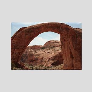 Rainbow Bridge Arch, Utah, USA Rectangle Magnet
