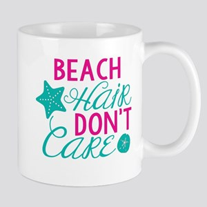 Beach Hair, Don't Care 11 oz Ceramic Mug