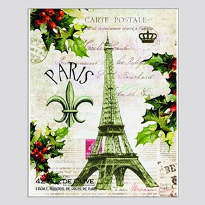 Vintage French Christmas in Paris Posters
