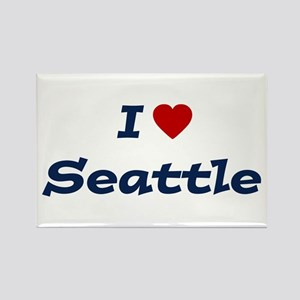 I HEART SEATTLE Rectangle Magnet