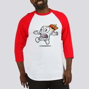 Funny Flaming Marshmallow Baseball Jersey