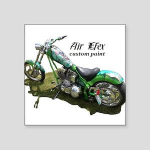 custom airbrushed Ironhorse chopper Square Sticker