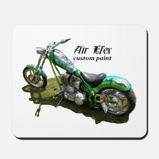 custom airbrushed Ironhorse chopper Mousepad