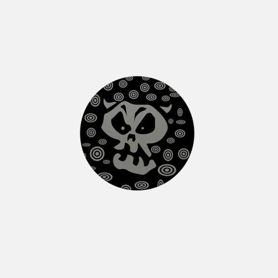 Demon Swirl Mini Button