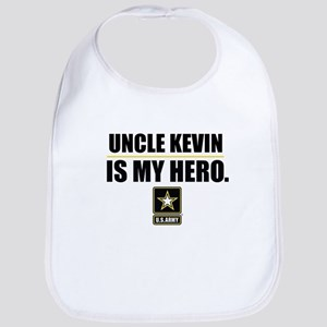 U.S. Army Personalized Hero Cotton Baby Bib