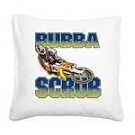 Bubba Scrub Square Canvas Pillow