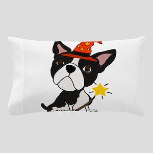 Boston Terrier Halloween Art Pillow Case