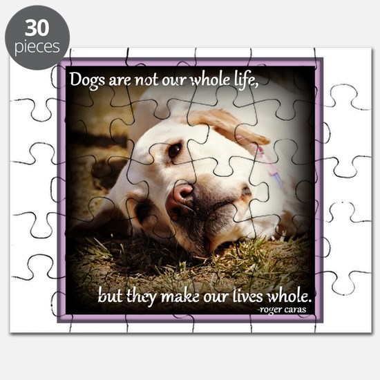 Make Our Lives Whole Puzzle