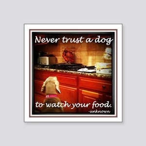 Food Watcher Sticker