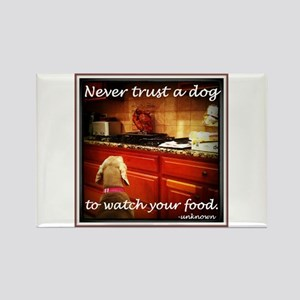 Food Watcher Rectangle Magnet