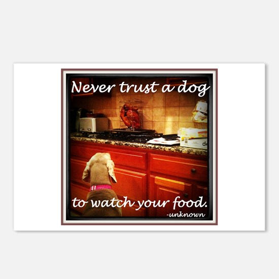 Food Watcher Postcards (Package of 8)