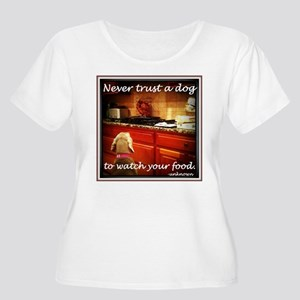 Food Watcher Plus Size T-Shirt