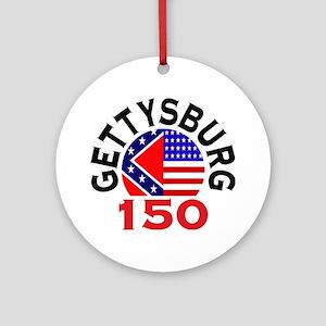 Gettysburg 150th Anniversary Civil War Ornament (R
