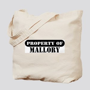Property of Mallory Tote Bag