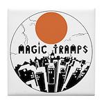 magictrampslogo2 Tile Coaster
