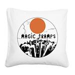magictrampslogo2 Square Canvas Pillow
