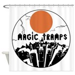 magictrampslogo2 Shower Curtain