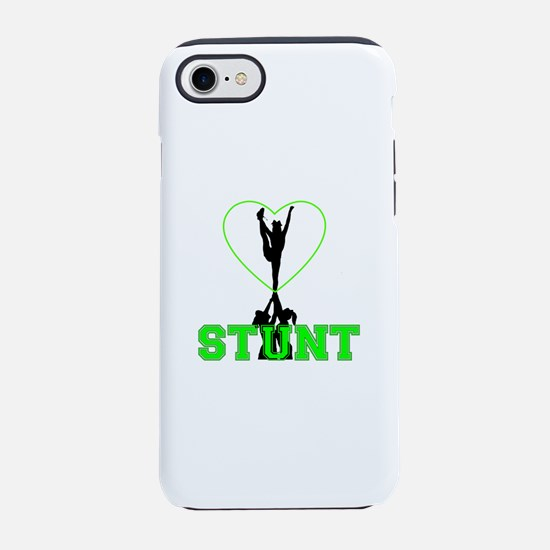 Green Cheer Stunt iPhone 7 Tough Case