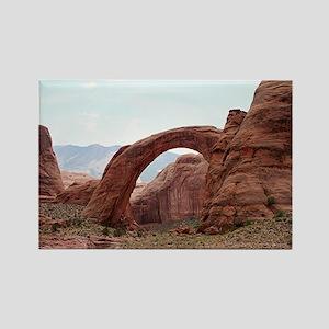 Rainbow Bridge Arch, Utah, USA 2 Rectangle Magnet