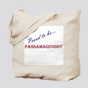 Passamaquoddy Tote Bag