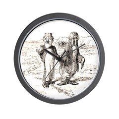 Brewster 6 Wall Clock