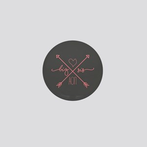 Alpha Omicron Pi Big Arrows Mini Button