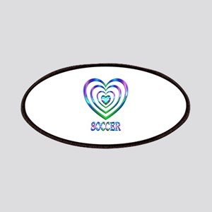 Soccer Hearts Patch