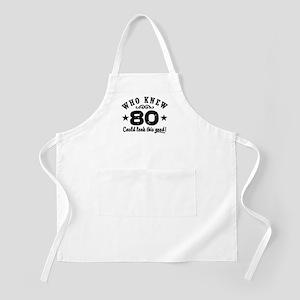 Funny 80th Birthday Apron