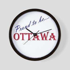 Ottawa Wall Clock
