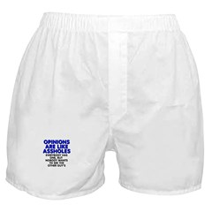 Opinions are like - Boxer Shorts