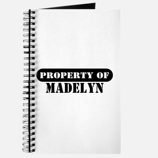 Property of Madelyn Journal