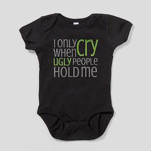 Crying Baby Baby Bodysuit