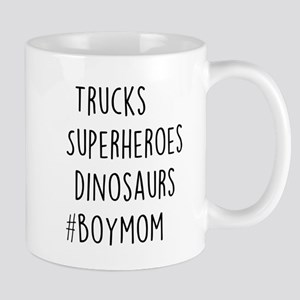 #BoyMom 11 oz Ceramic Mug