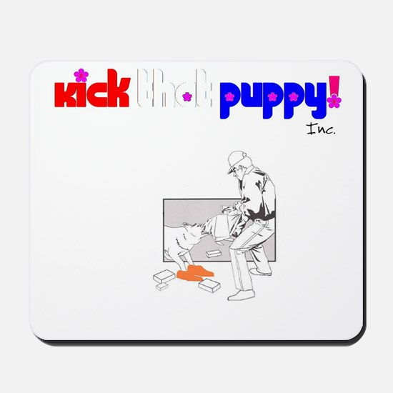 """Kick"" Mousepad"