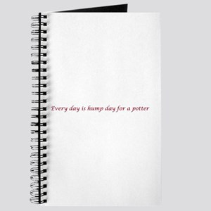 Every day is hump day for a potter Journal