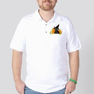 Scottie Puppy Halloween Golf Shirt