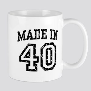 Made In 40 Mug