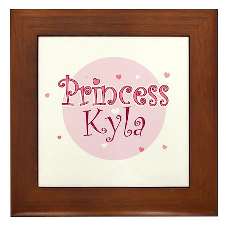 Kyla Framed Tile