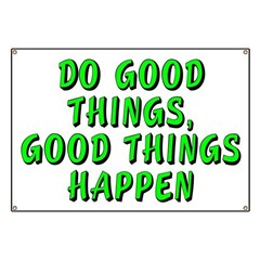 Do good things - Banner