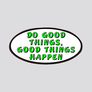 Do good things - Patches
