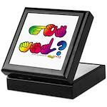 Rainbow GOT ASL? Keepsake Box