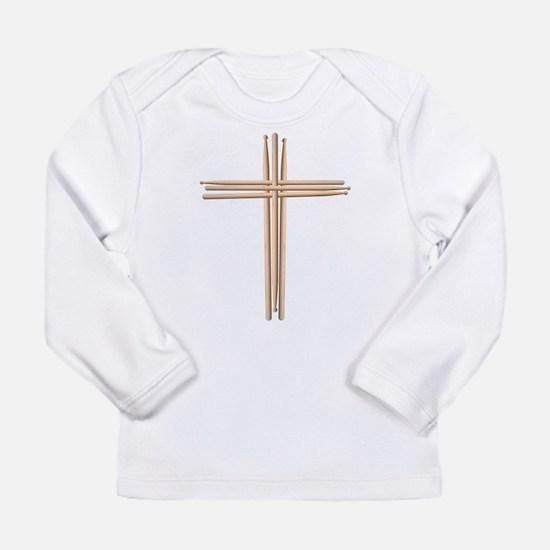 Cross - Drumsticks Long Sleeve T-Shirt