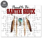 Proud to be Santee Sioux Puzzle