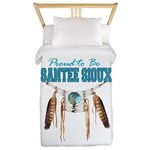 Proud to be Santee Sioux Twin Duvet