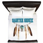 Proud to be Santee Sioux King Duvet