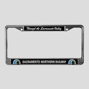 Sacramento Northern License Plate Frame