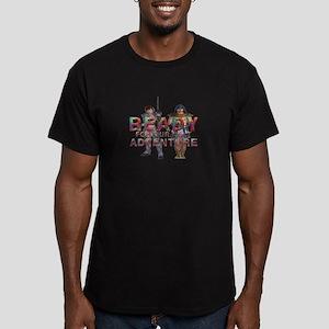 Our Next Adventure Men's Fitted T-Shirt (dark)