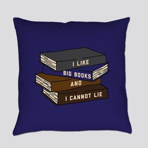 I Like Big Books Everyday Pillow